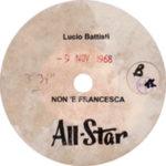 1968 – Non è Francesca – Lucio Battisti (Stati Uniti)
