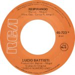 1977 – Respirando/Donde llega aquella zarza – Lucio Battisti (Venezuela)