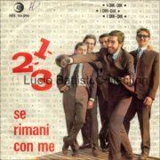 30/12/1965 – 1-2-3 / Se rimani con me – Dik Dik – Ricordi SRL 10-390 – Italia