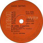 1974 – Mi libre cancion/Pienso en vos – Lucio Battisti (Uruguay)