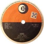 1971 – Anna/Emozioni – Lucio Battisti (Sudafrica)