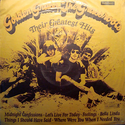 1969 – Golden Grass: Their Greatest Hits – The Grass Roots (Uruguay)