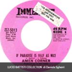 1969 – (If paradise is) half as nice/Hey hey girl – Amen Corner (Stati Uniti promo)