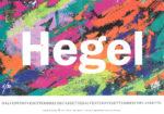 "Volantino pubblicitario ""Hegel"""