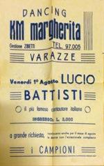 """Manifesto concerto """"KM Margherita"""" a Varazze"""