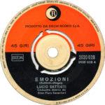1971 – Emozioni/Anna – Lucio Battisti (Grecia)