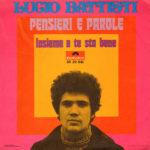 1971 - Pensieri e parole/Insieme a te sto bene - Lucio Battisti (Spagna)