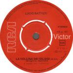 1973 – La collina dei ciliegi/Il nostro caro angelo – Lucio Battisti (Grecia)
