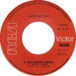 1972 – Il mio canto libero/Confusione – Lucio Battisti (Grecia)