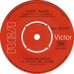 1970 – La spada nel cuore/Roma è una prigione – Patty Pravo (Grecia)
