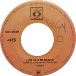 1969 – Si supieras… por si acaso/Vuelve a mi mente – Fedra (Perù)