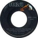 1980 – Una triste jornada/La cinta rosa – Lucio Battisti (Perù)