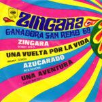 1969 – Zingara. Ganadora San Remo 69 – Interpreti vari (Messico)