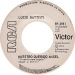 1974 – Nuestro querido angel/La colina de los cerezos – Lucio Battisti (Messico promozionale)