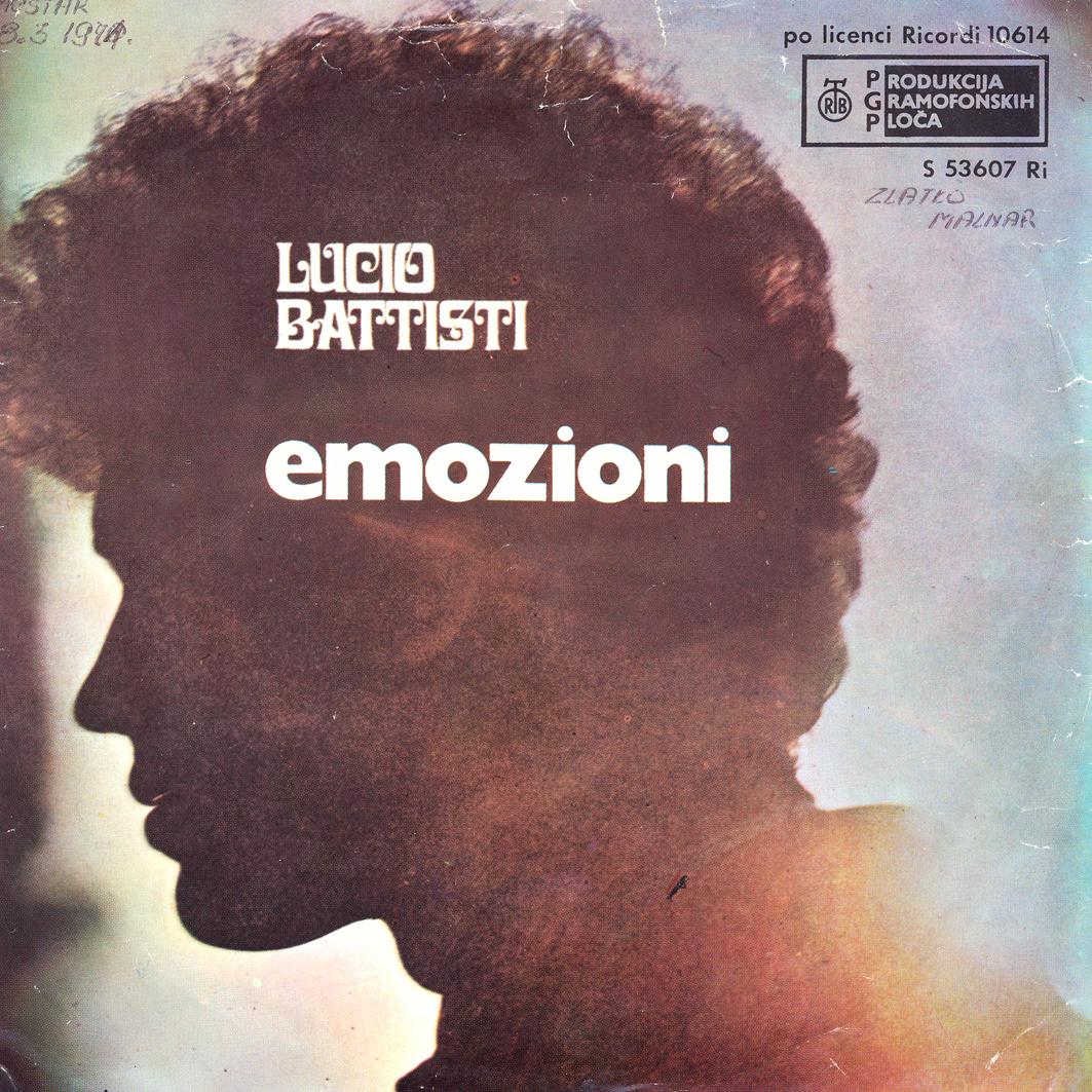 1970 – Emozioni/Anna – Lucio Battisti (Jugoslavia)