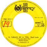 1969 – El paraiso de la vida/El paraiso de la vida – La Ragazza 77 (Perù)