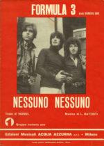 1971 – Nessuno nessuno – Formula 3 (Italia)