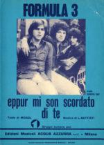 1971 – Eppur mi son scordato di te – Formula 3 (Italia, variante azzurra)