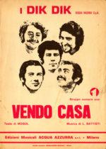 1971 – Vendo casa – Dik Dik (Italia)
