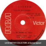 1976 – Donde llega aquella zarza/No doctor – Lucio Battisti (Bolivia)