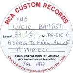 1977 – A song To Feel alive – Lucio Battisti (Stati Uniti)