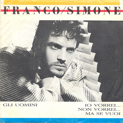 1985 – Glu uomini / Io vorrei… non vorrei… ma se vuoi – Franco Simone (Italia)