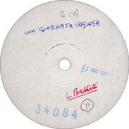 1980 – Una giornata uggiosa (LP) – Lucio Battisti – RCA 34084 – White label promo (Francia)