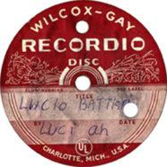 1971 – Luci-ah – Lucio Battisti – Acetato (Stati Uniti)