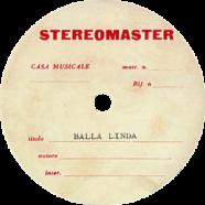 1968 – Balla Linda – Lucio Battisti – Test-pressing (Italia)