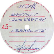 21/11/1974 – Abbracciala, abbraciali, abbracciati – Lucio Battisti – Test-pressing (Italia)