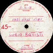 1971 – La canzone del sole – CADS 6966 – Test-pressing (Italia)