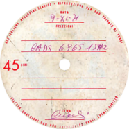 09/11/1971 – Anche per te – CADS 6965 – Test-pressing (Italia)