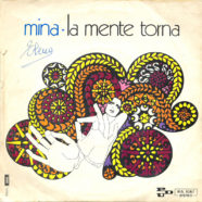 27/10/1971 – La mente torna / Uomo – Mina – PDU P.A. 1067 – Italia