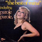 1973 – The best of Mina – Mina (Francia)