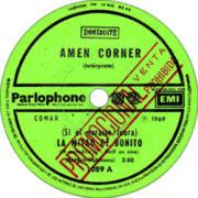 1969 – La mitad de bonito / Hey hey nena – Amen Corner (Argentina promo)