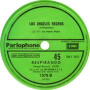 1977 – Serenata sin luna / Respirando – Los Angeles Negros (Argentina)