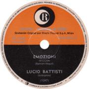 1970 – Ricordi 2167002 (Promo) (Argentina)