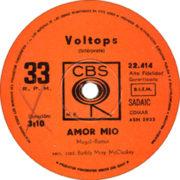 1973 – Amor mio / Lo hice por Maria – Voltops (Argentina)