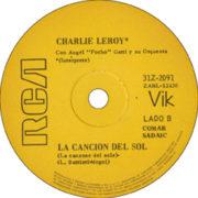 1971 – Sin ti / La cancion del sol – Charlie Leroy (Argentina)
