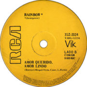 1971 – Con mi moto ye, ye / Amor querido, amor lindo – Rainbow (Argentina)