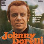 1970 – Quiero llenarme de ti / La soledad / La mariposa enloquecida / La inmensidad – Johnny Dorelli (Argentina)