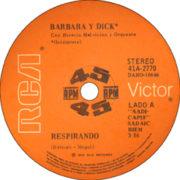 1976 – Respirando / Cuando estabamos – Barbara Y Dick (Argentina)