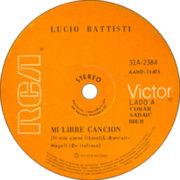 1973 – RCA Victor 41A-2384 (Argentina)