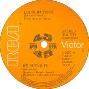 1977 – RCA Victor 41A-2728 (Argentina)