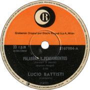 1971 – Ricordi 2167004 (Argentina)