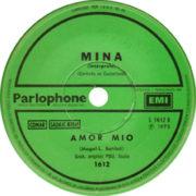 1973 – Amor mio/Balada para mi muerte – Mina (Argentina)