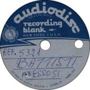 1966 – Adesso sì – Lucio Battisti – REF.5321 – Acetato (Italia)
