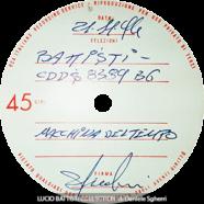 21/11/1974 – Macchina del tempo – Lucio Battisti – Test-pressing (Italia)