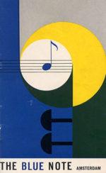 "Locandina ""The Blue Note"" di Amsterdam"
