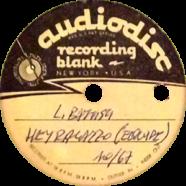 10/1967 – Hey ragazzo – Lucio Battisti – Acetato (Italia)